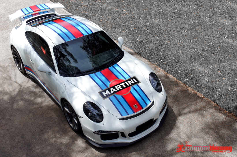 Porsche Stripes | Porsche Wrap | GT3 Stripes | Carbon Demon