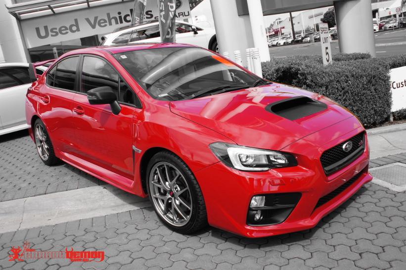 Subaru Sti Wrx Brz Levorg Vinyl Wrap Carbon Demon