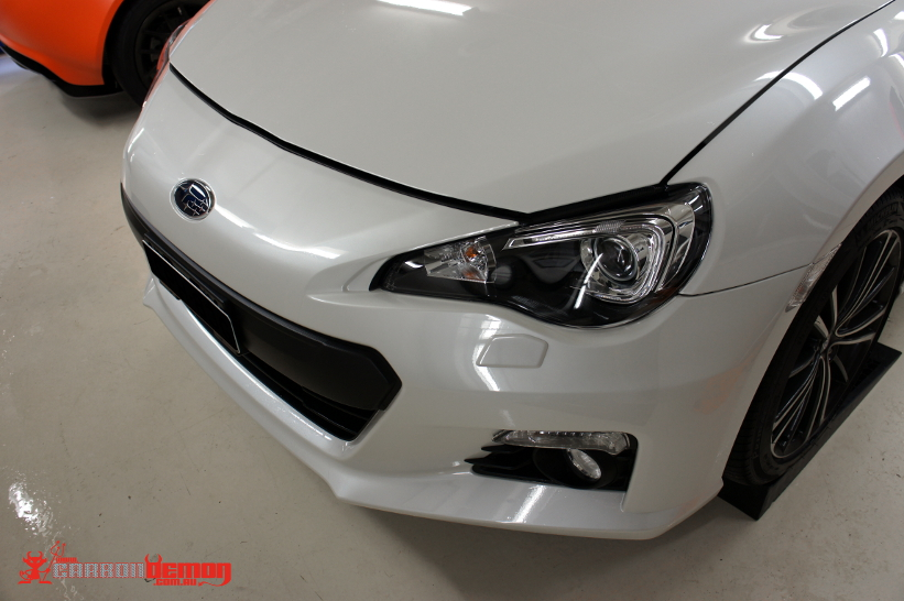 Subaru BRZ PPF (paint protection film)