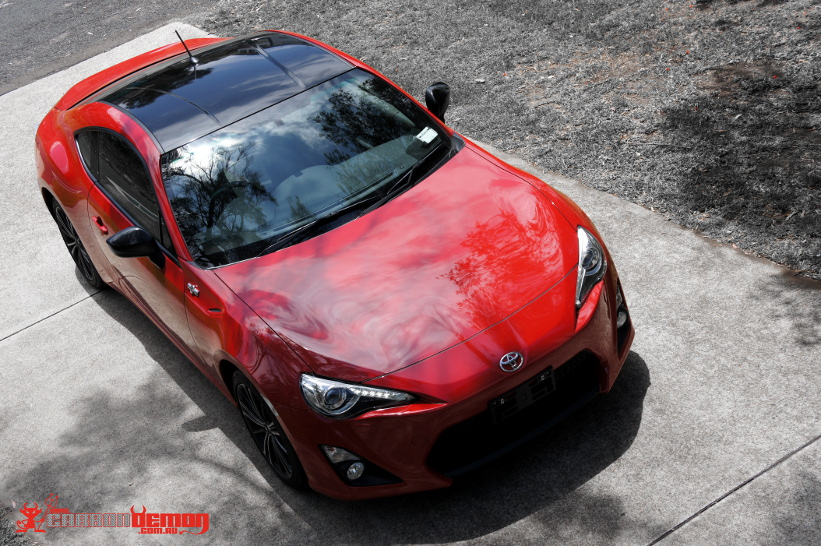 Toyota 86 GT Gloss Black Roof