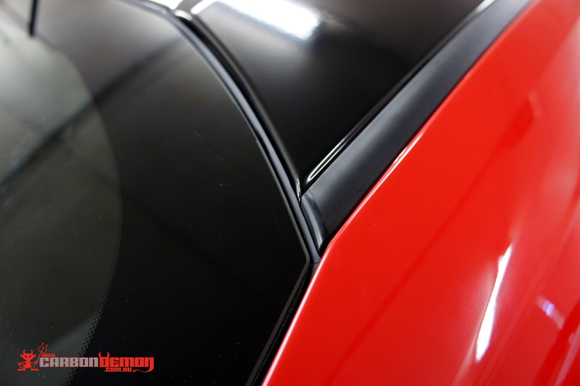 Toyota 86 Gloss Black Roof - attention to detail by Carbon Demon