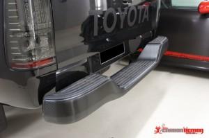 Toyota carbon fibre wrap