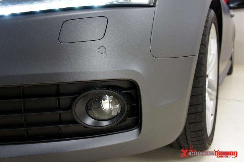 Audi S5 Matte Dark Grey Wrap