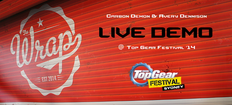 Top Gear Avery Dennison Live Demo