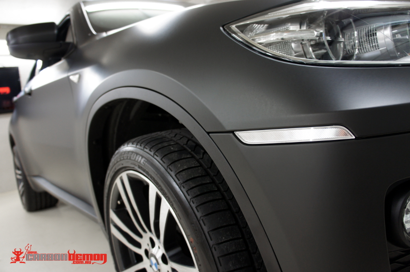 bmw x6 matte black vinyl car wrap sydney. Black Bedroom Furniture Sets. Home Design Ideas