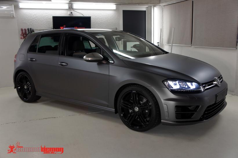 VW volkswagen vinyl wrap | Carbon Demon