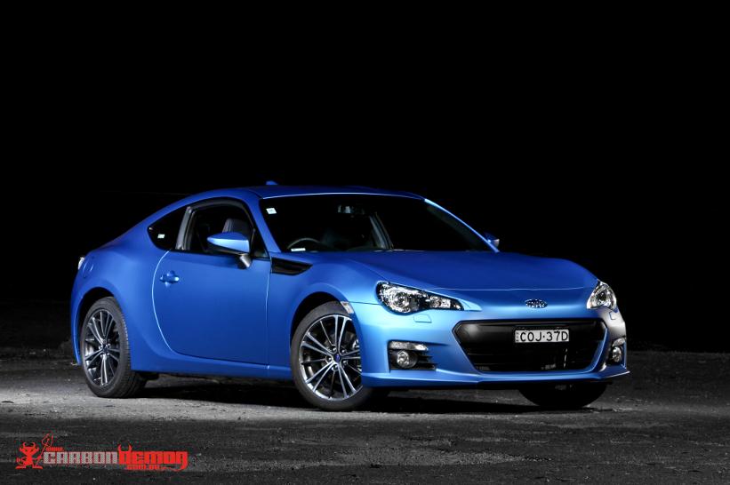 Subaru Australia Matte Show Car