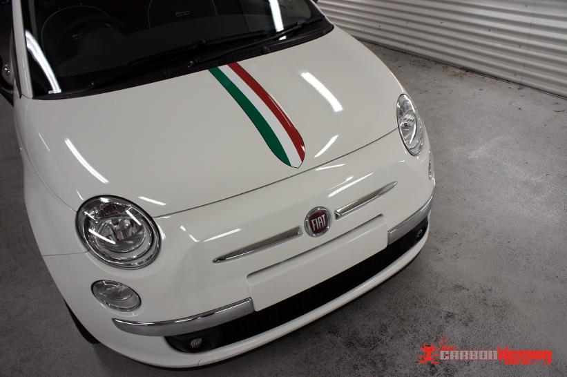 FIAT 500 - Italian Stripe