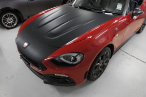 Fiat 124 Launch Edition vinyl wap