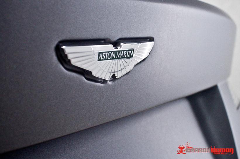 Matte Grey Aston Vinyl Wrap