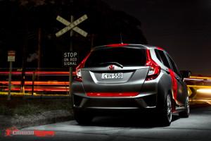 Honda Jazz modified with matte vinyl wrap - Carbon Demon (3)