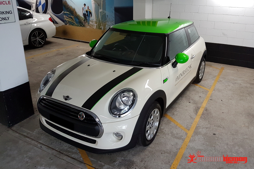 Mini Cooper Vinyl Stripes | Carbon Demon