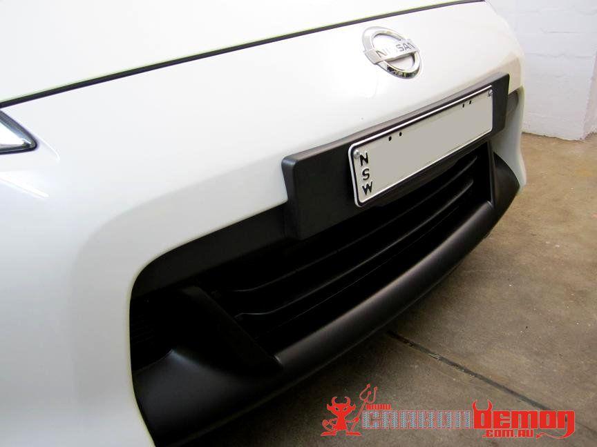 Nissan 370z Black Out Front Fangs Diy Zclub